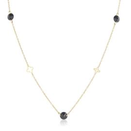 Celebrytka lilijka z kryształkami - Xuping CP3154