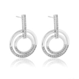 Kolczyki wiszące z kryształkami - Xuping EAP13084