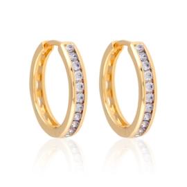 Kolczyki z kryształkami - Xuping EAP13140