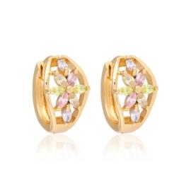 Kolczyki z kryształkami Xuping EAP13149