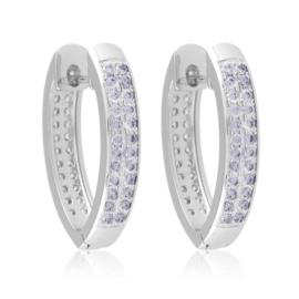 Kolczyki codzienne z kryształkami Xuping EAP13174