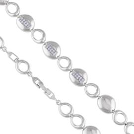 Bransoletka z kryształkami - Xuping - BP6086