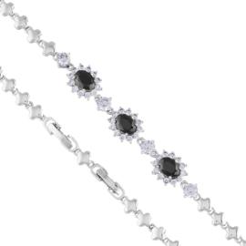 Bransoletka z kryształkami - Xuping - BP6091