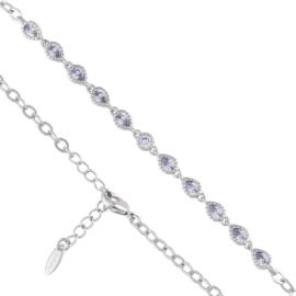Bransoletka z kryształkami - Xuping - BP6093