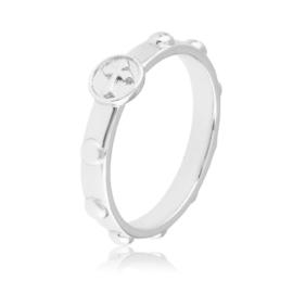 Pierścionek różaniec - Xuping PP2657