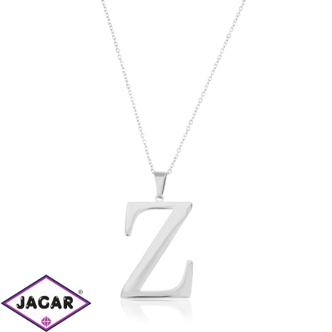 Celebrytka stal - literka Z silver Xuping - CP3715