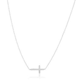 Celebrytka stal - krzyżyk - Xuping CP3852