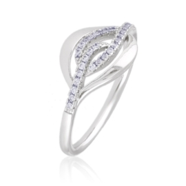 Pierścionek z kryształkami - Xuping PP2717
