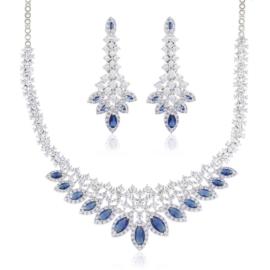 Komplet biżuterii wieczorowej - Xuping - SKO91