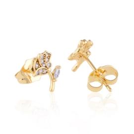 Kolczyki sztyfty z kryształkami Xuping EAP14684