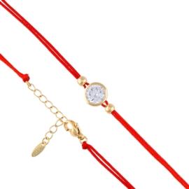 Bransoletka sznurek z kryształkiem Xuping BP7374