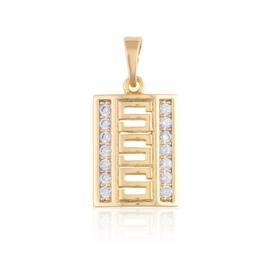 Przywieszka z kryształkami - Xuping PRZ2685