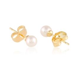 Kolczyki sztyfty różowe perełki - Xuping EAP15251