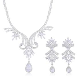 Komplet biżuterii ślubnej Xuping - SKO101