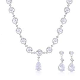 Komplet biżuterii ślubnej Xuping - SKO104