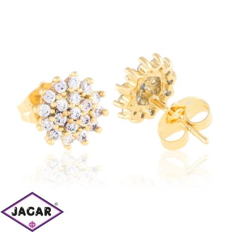 Kolczyki sztyfty z kryształkami - Xuping EAP15695