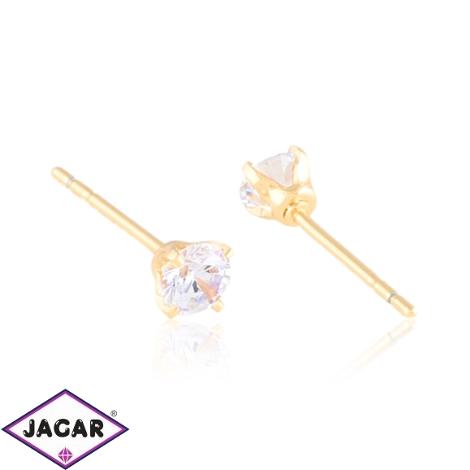 Kolczyki sztyfty kryształki 0,4cm Xuping EAP15699