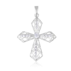 Przywieszka - ażurowy krzyż - Xuping PRZ2757