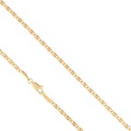 Łańcuszek bizantyjski 55cm Xuping LAP2301