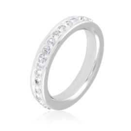 Obrączka z kryształkami Xuping PP3055
