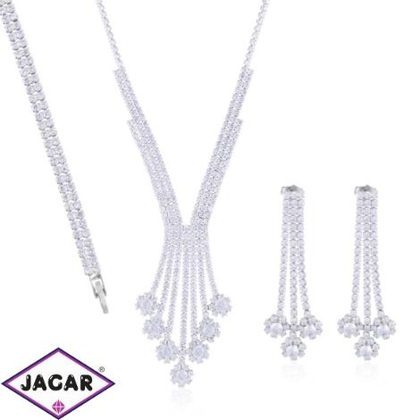 Komplet biżuterii ślubnej Xuping - SKO108