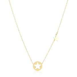 Celebrytka stalowa z gwiazdkami Xuping CP5518