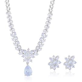 Komplet biżuterii ślubnej Xuping - SKO111