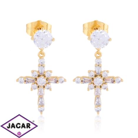 Kolczyki wiszące z kryształkami Xuping EAP17406