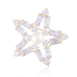 Broszka z kryształkami - Xuping BRP59