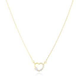 Naszyjnik stalowy serce Xuping CP6362