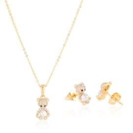 Komplet biżuterii miś Xuping PK622