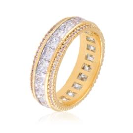 Obrączka z kryształkami Xuping PP3427
