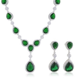 Komplet biżuterii ślubnej Xuping - SKO122