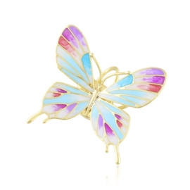 Broszka codzienna motylek Xuping BRP87