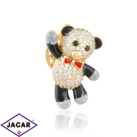 Broszka przypinka panda Xuping BRP93