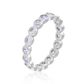Obrączka z kryształkami Xuping PP3566