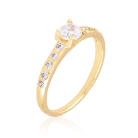 Pierścionek z kryształkami Xuping PP3605