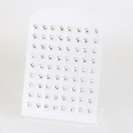 Zestaw 36 par sztyftów kryształ Xuping EAP19616