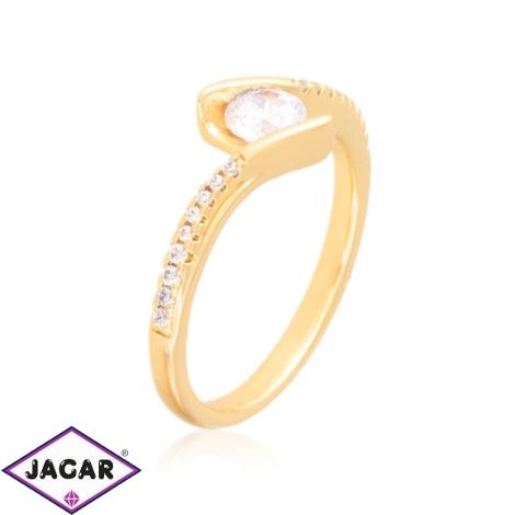 Pierścionek codzienny z kryształkami Xuping PP3789