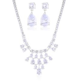 Komplet biżuterii wieczorowej Xuping - SKO132