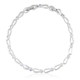 Bransoletka z kryształkami Xuping BP10522