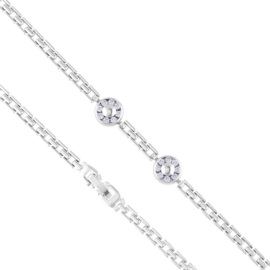 Bransoletka z kryształkami Xuping BP10523