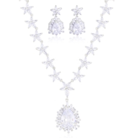 Komplet biżuterii wieczorowej Xuping - SKO138