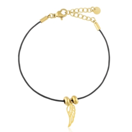Bransoletka stalowa na sznurku Xuping BP10661