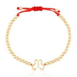 Bransoletka na sznurku Xuping BP10826