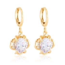 Kolczyki wiszące kryształy Xuping EAP21404